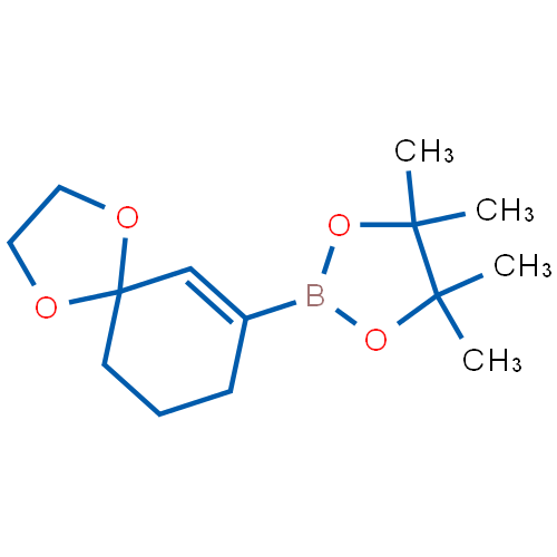 4,4,5,5-Tetramethyl-2-(1,4-dioxaspiro[4.5]dec-6-en-7-yl)-1,3,2-dioxaborolane