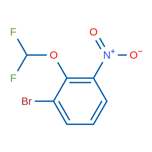 1-Bromo-2-(difluoromethoxy)-3-nitrobenzene