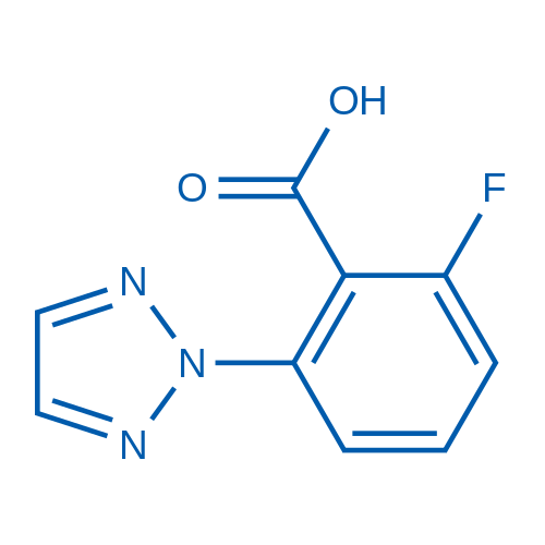 2-Fluoro-6-(2H-1,2,3-triazol-2-yl)benzoicacid
