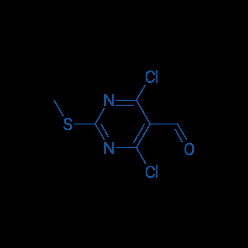 4,6-Dichloro-2-(methylthio)pyrimidine-5-carbaldehyde