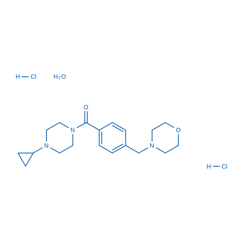 Bavisant dihydrochloride hydrate
