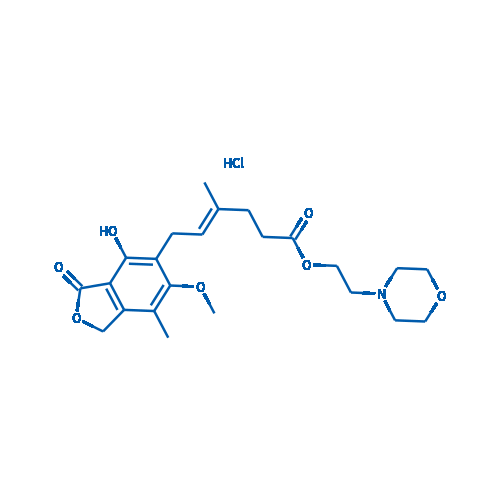 Mycophenolate mofetil hydrochloride