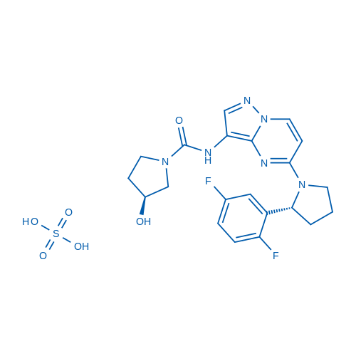 LOXO-101 sulfate