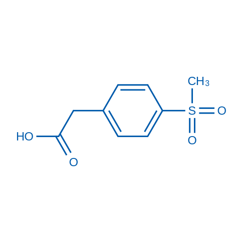 2-(4-(Methylsulfonyl)phenyl)acetic acid