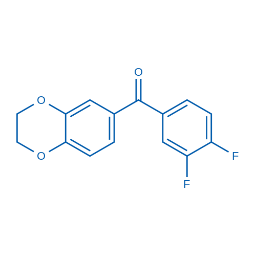 (3,4-Difluorophenyl)(2,3-dihydrobenzo[b][1,4]dioxin-6-yl)methanone