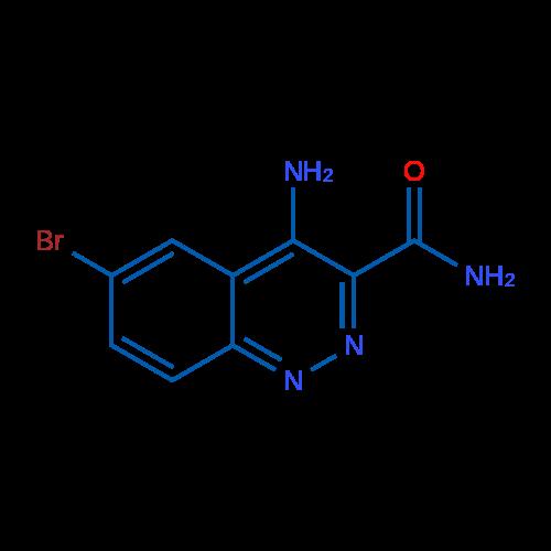 4-Amino-6-bromocinnoline-3-carboxamide