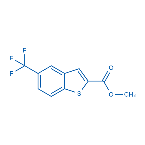 Methyl 5-(trifluoromethyl)benzo[b]thiophene-2-carboxylate