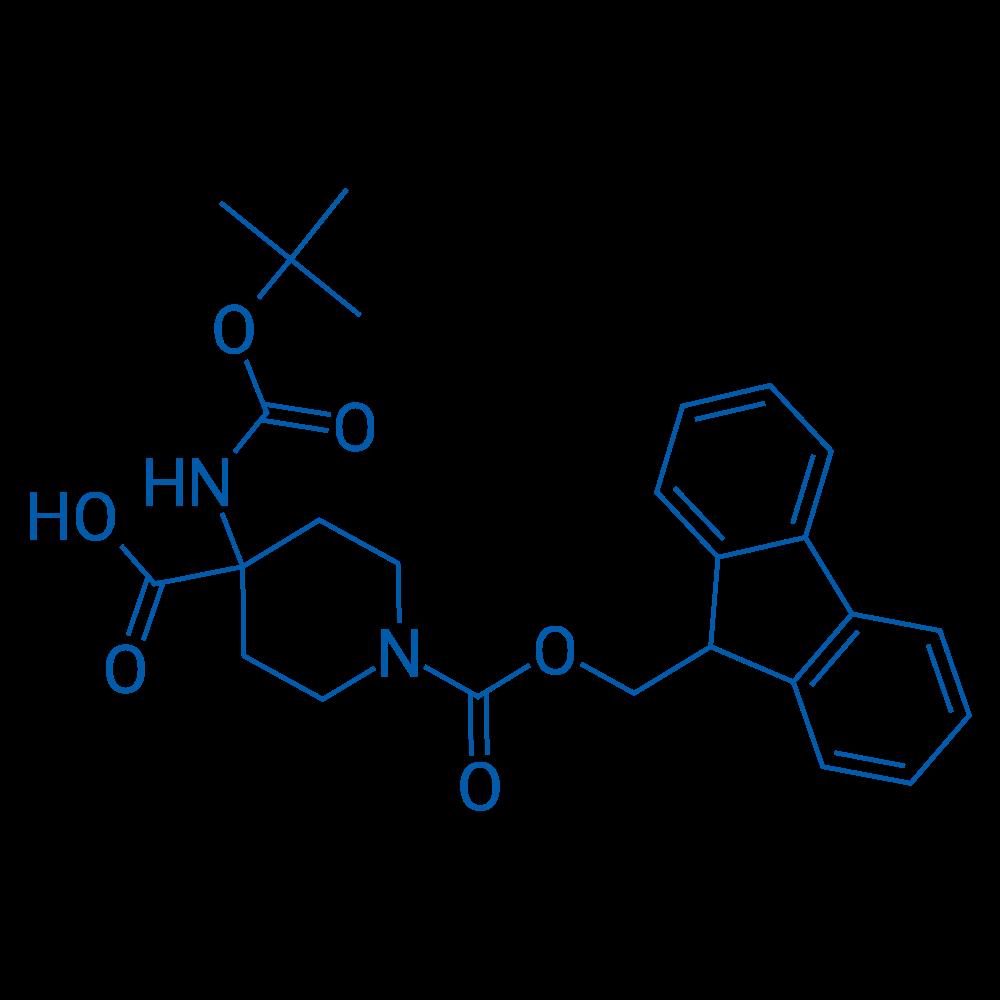 4-(Boc-amino)-1-Fmoc-piperidine-4-carboxylic Acid