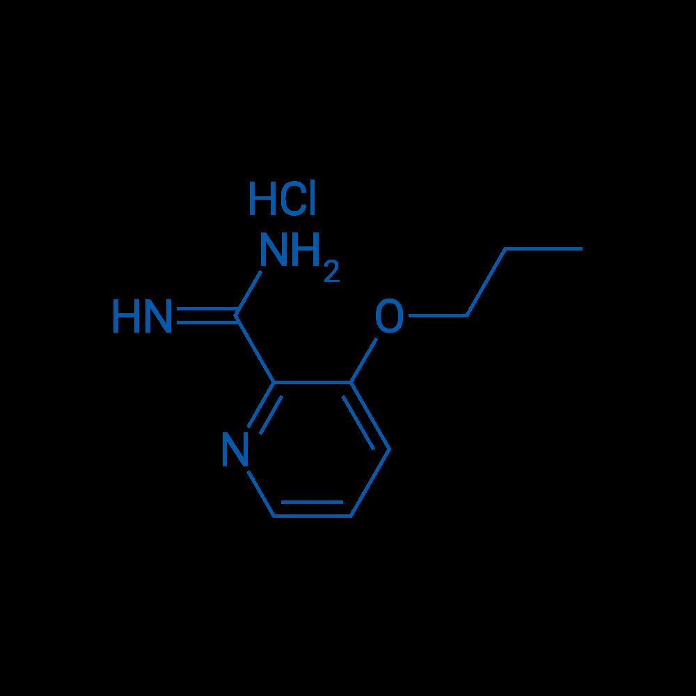 3-Propoxypicolinimidamide hydrochloride