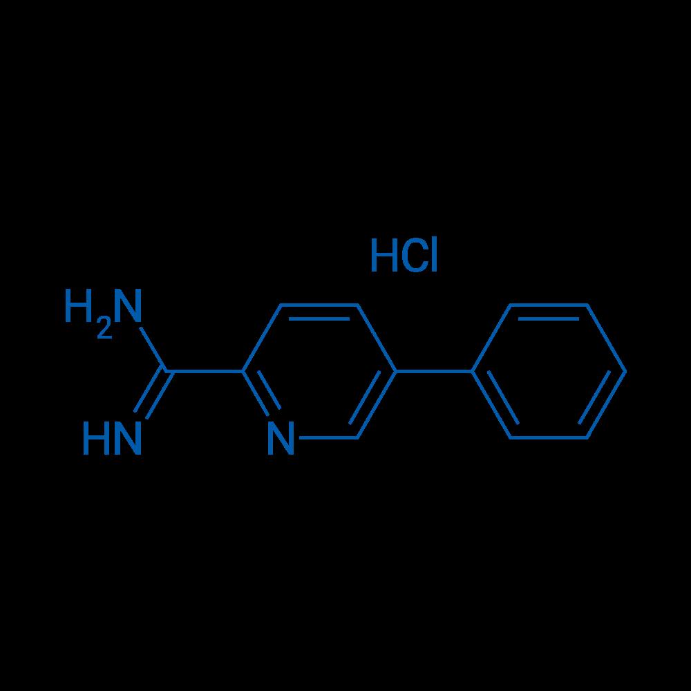 5-Phenylpicolinimidamide hydrochloride