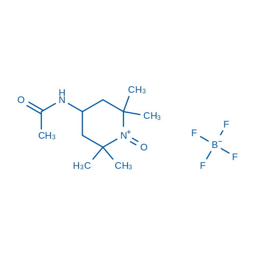 4-Acetamido-2,2,6,6-tetramethyl-1-oxopiperidinium Tetrafluoroborate