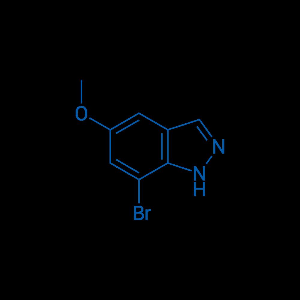 7-Bromo-5-methoxy-1H-indazole