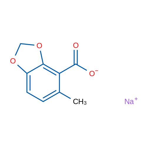 Sodium 5-methylbenzo[d][1,3]dioxole-4-carboxylate