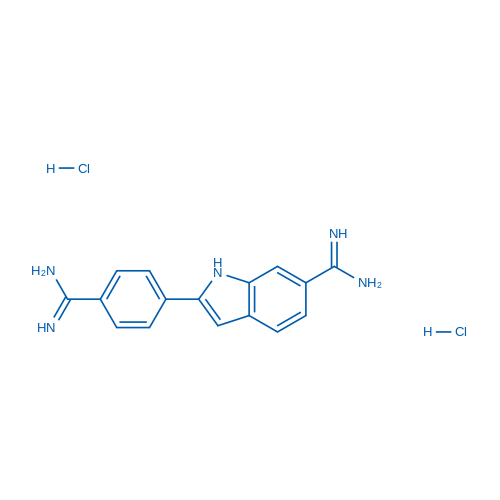 2-(4-Carbamimidoylphenyl)-1H-indole-6-carboximidamide dihydrochloride