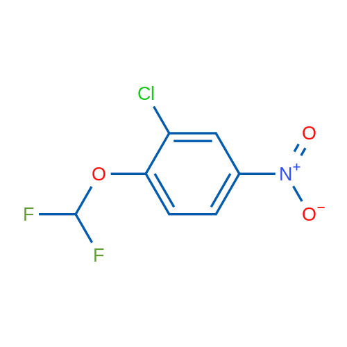 2-Chloro-1-(difluoromethoxy)-4-nitrobenzene