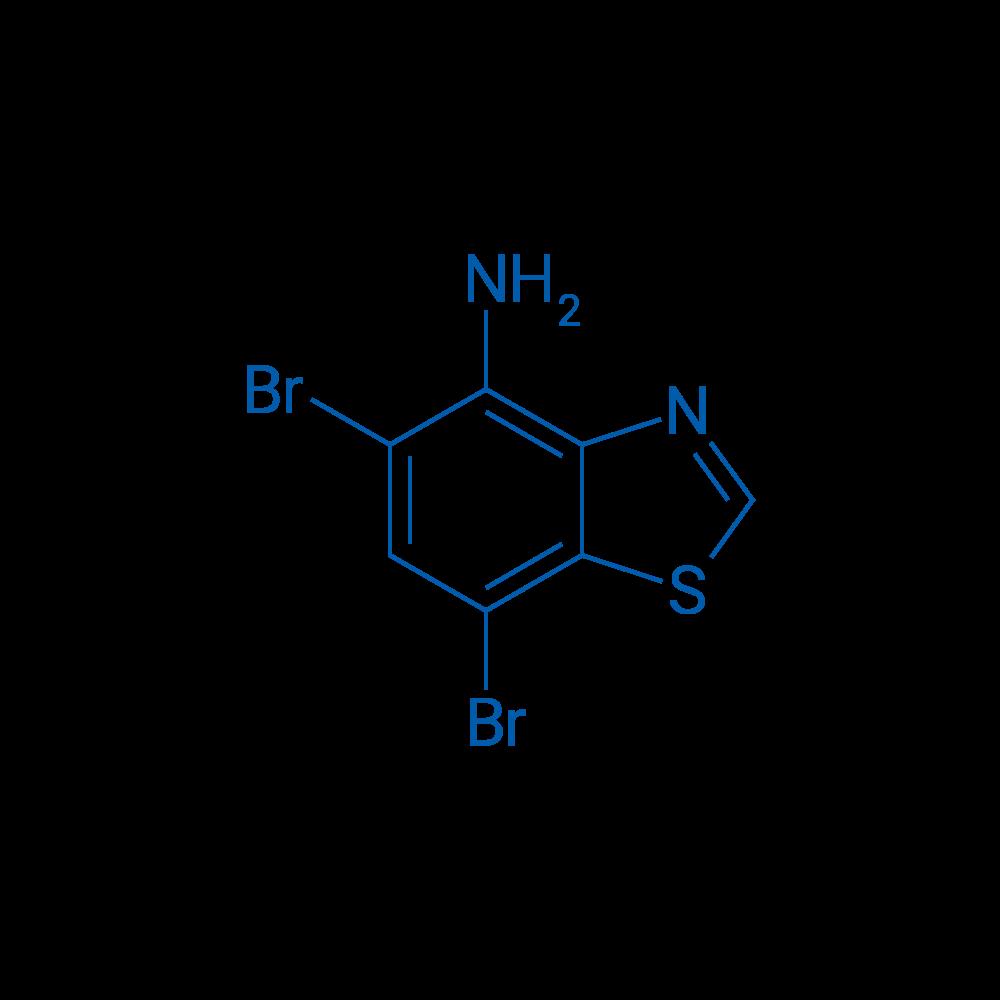 5,7-Dibromobenzo[d]thiazol-4-amine