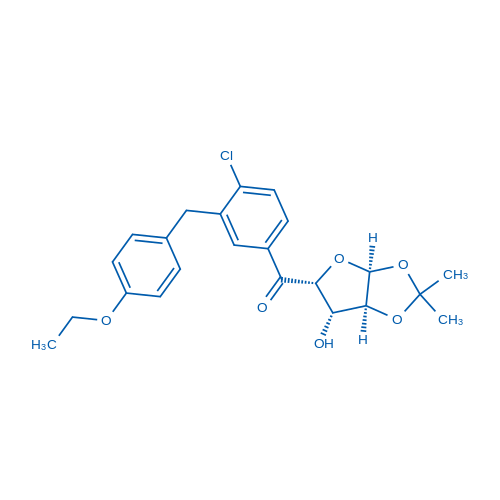(4-Chloro-3-(4-ethoxybenzyl)phenyl)((3aS,5R,6S,6aS)-6-hydroxy-2,2-dimethyltetrahydrofuro[2,3-d][1,3]dioxol-5-yl)methanone