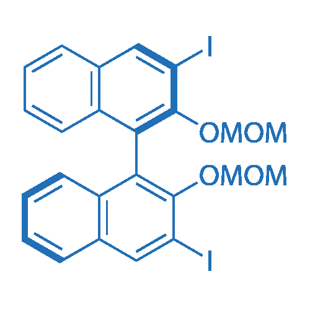 (R)-3,3'-Diiodo-2,2'-bis(methoxymethoxy)-1,1'-binaphthalene