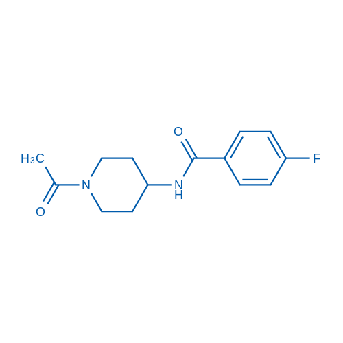 N-(1-Acetylpiperidin-4-yl)-4-fluorobenzamide