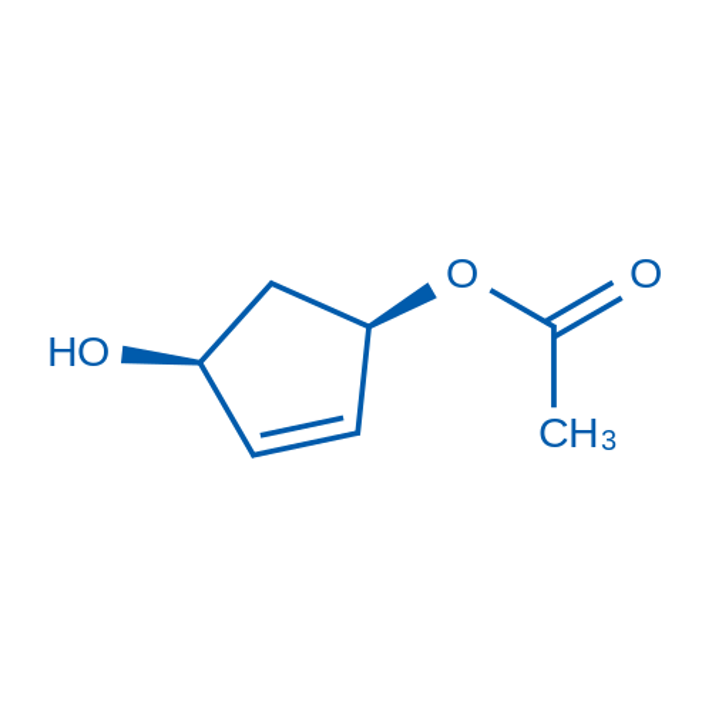(1R,4S)-4-Hydroxycyclopent-2-en-1-yl acetate