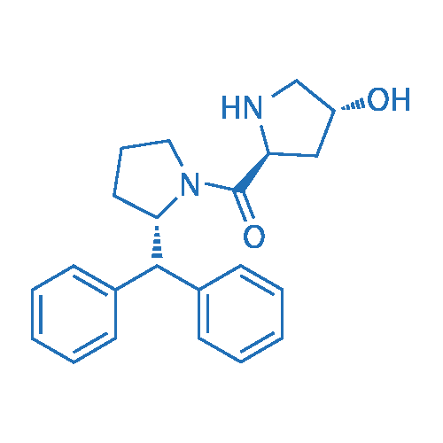 ((S)-2-Benzhydrylpyrrolidin-1-yl)((2S,4R)-4-hydroxypyrrolidin-2-yl)methanone