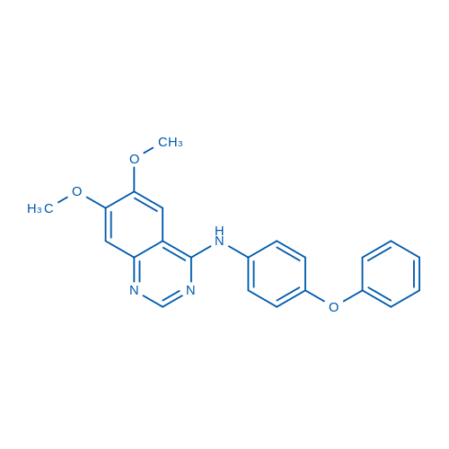 6,7-Dimethoxy-N-(4-phenoxyphenyl)quinazolin-4-amine