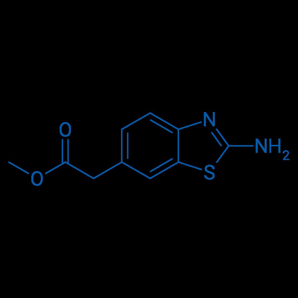 Methyl 2-(2-aminobenzo[d]thiazol-6-yl)acetate