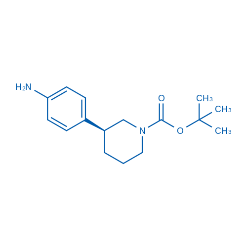 (S)-tert-Butyl 3-(4-aminophenyl)piperidine-1-carboxylate