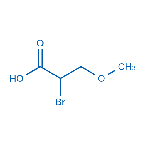 2-Bromo-3-methoxypropanoic acid
