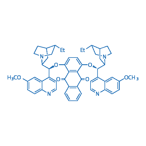1,4-Bis[(9S)-10,11-dihydro-6′-methoxycinchonan-9-yl]-9,10-anthracenedione