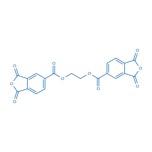 Ethane-1,2-diyl bis(1,3-dioxo-1,3-dihydroisobenzofuran-5-carboxylate)