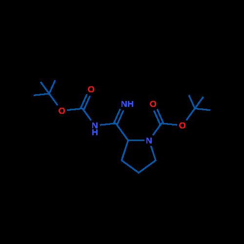 tert-Butyl 2-(N-(tert-butoxycarbonyl)carbamimidoyl)pyrrolidine-1-carboxylate
