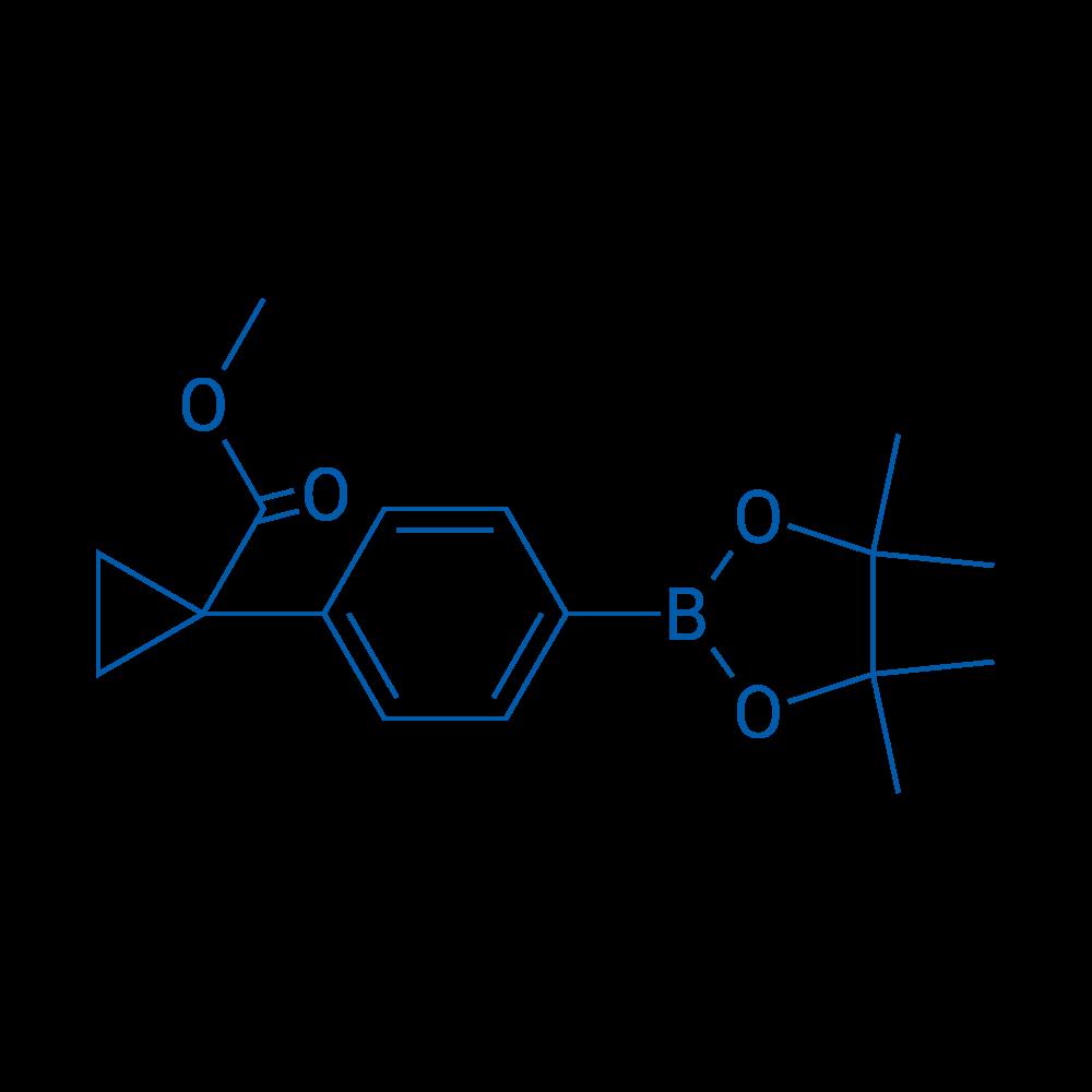 Methyl 1-(4-(4,4,5,5-tetramethyl-1,3,2-dioxaborolan-2-yl)phenyl)cyclopropanecarboxylate