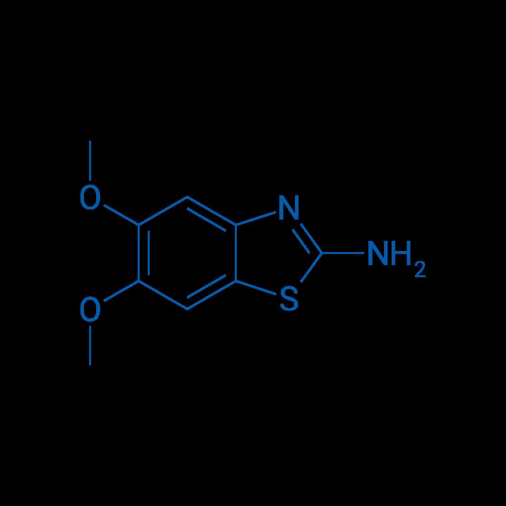 5,6-Dimethoxybenzo[d]thiazol-2-amine