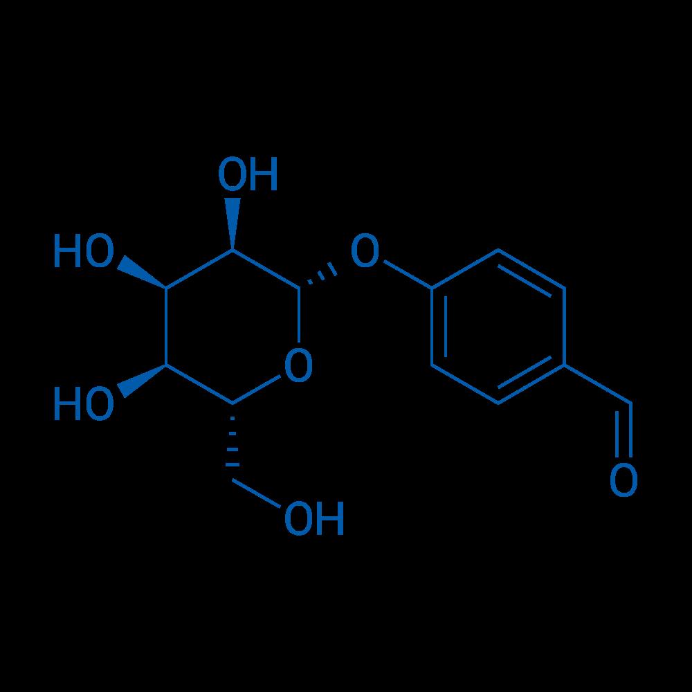 4-(((2S,3R,4R,5S,6R)-3,4,5-Trihydroxy-6-(hydroxymethyl)tetrahydro-2H-pyran-2-yl)oxy)benzaldehyde