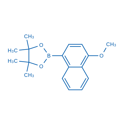 2-(4-Methoxynaphthalen-1-yl)-4,4,5,5-tetramethyl-1,3,2-dioxaborolane
