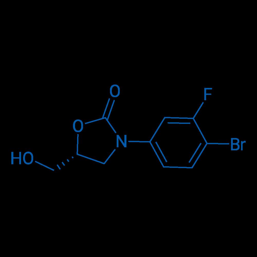 (R)-3-(4-Bromo-3-fluorophenyl)-5-(hydroxymethyl)oxazolidin-2-one