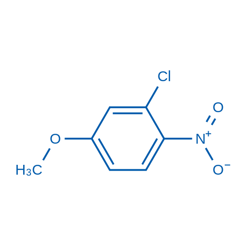 2-Chloro-4-methoxy-1-nitrobenzene