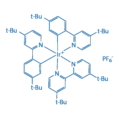 [4,4'-Di-t-butyl-2,2'-bipyridine][bis[5-(t-butyl)-2-[4-(t-butyl)-2-pyridinyl-kN]phenyl-kC]iridium(III) hexafluorophosphate
