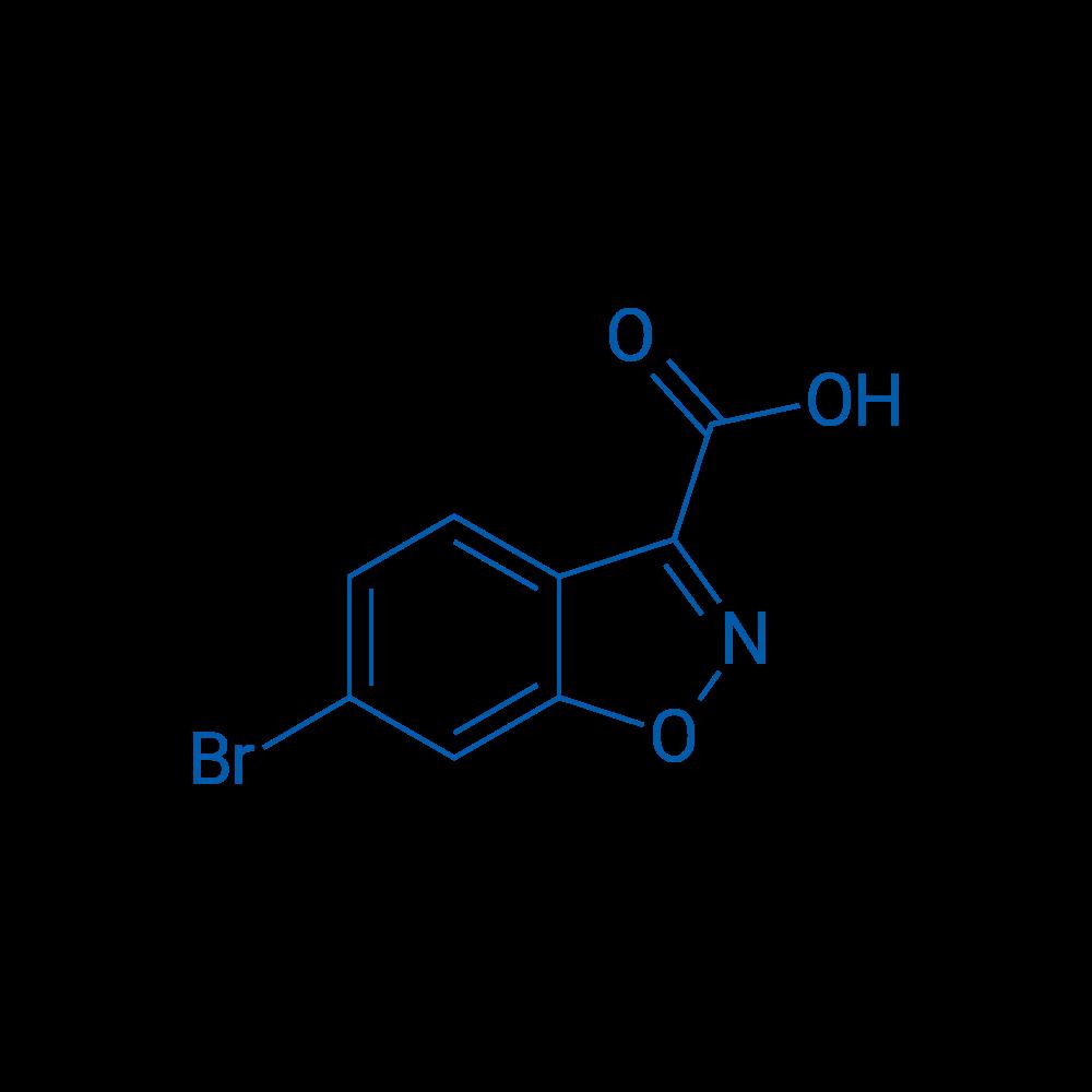 6-Bromobenzo[d]isoxazole-3-carboxylic acid