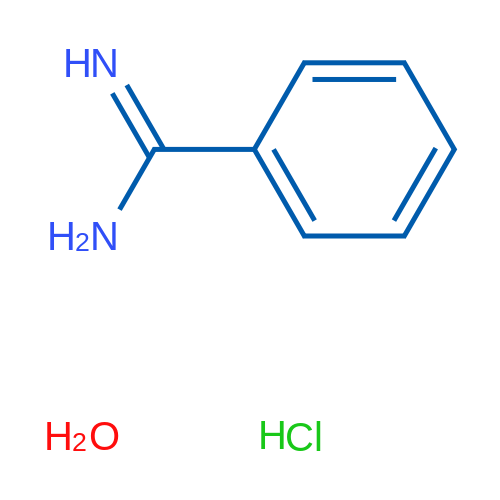 Benzenecarboximidamide hydrochloride hydrate