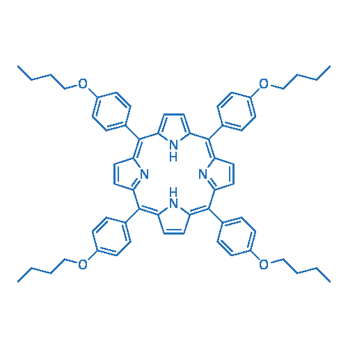 5,10,15,20-Tetrakis(4-butoxyphenyl)-Porphine
