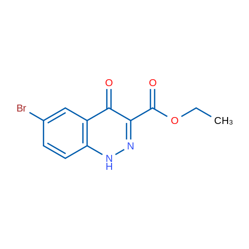 Ethyl 6-bromo-4-oxo-1,4-dihydrocinnoline-3-carboxylate