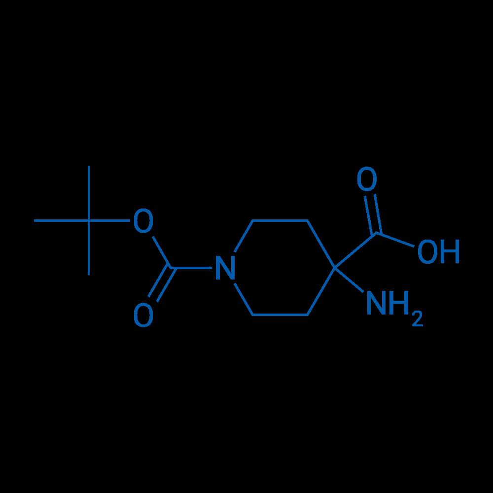 1-Boc-4-Aminopiperidine-4-carboxylicacid