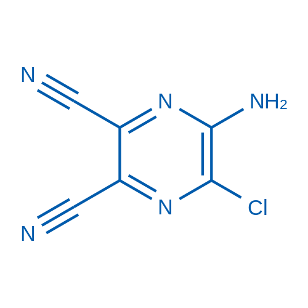 5-Amino-6-chloropyrazine-2,3-dicarbonitrile