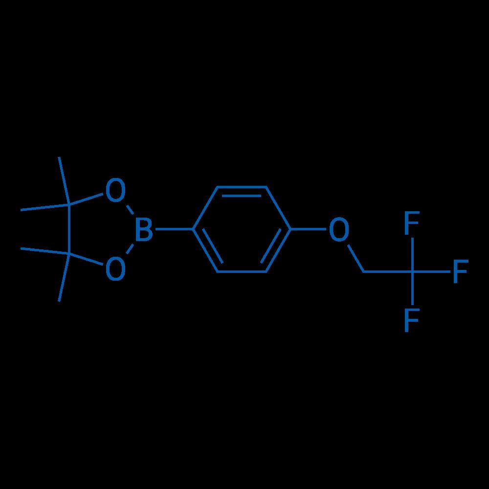4,4,5,5-Tetramethyl-2-(4-(2,2,2-trifluoroethoxy)phenyl)-1,3,2-dioxaborolane