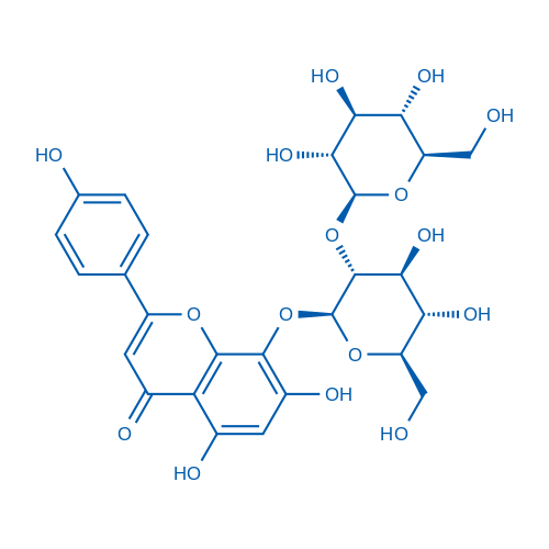 Vitexin-4″-o-glucoside