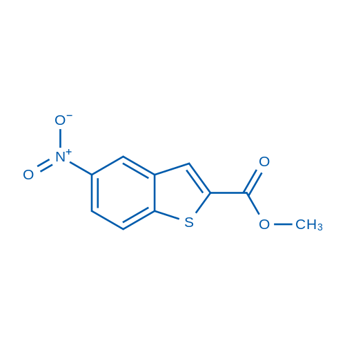 Methyl 5-nitrobenzo[b]thiophene-2-carboxylate