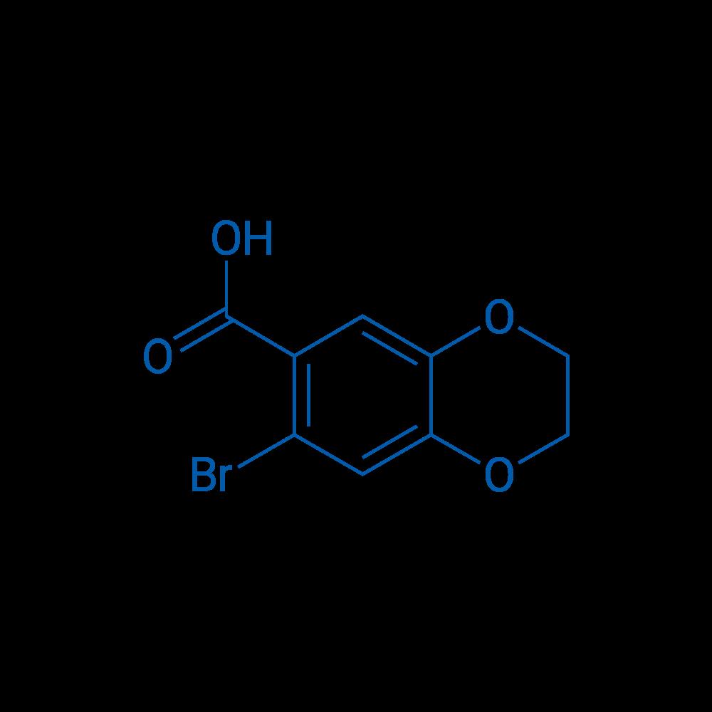 7-Bromo-2,3-dihydrobenzo[b][1,4]dioxine-6-carboxylic acid
