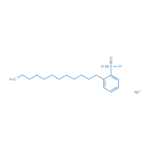 2-Dodecylbenzenesulfonic acid, sodium salt